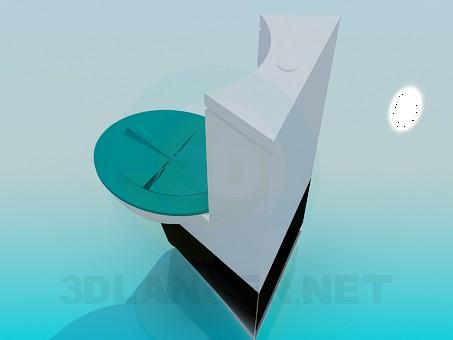 3d модель Унитаз – превью