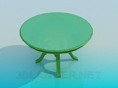 3d model Roundtable - preview