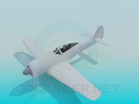 3d model Single plane - preview