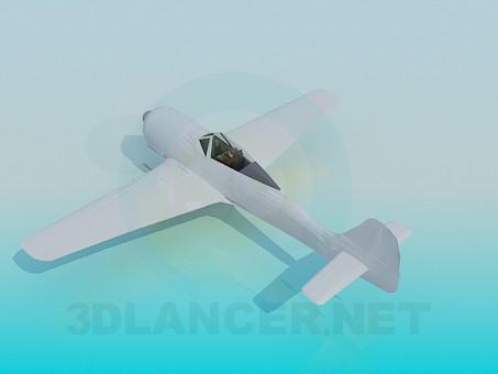 modelo 3D Solo plano - escuchar