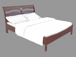 Double bed in classic style FS2203s (166x220x107)