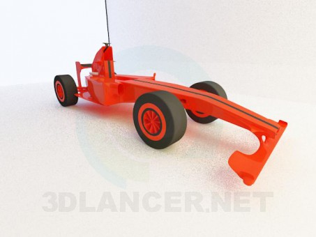 3d model Race car - preview