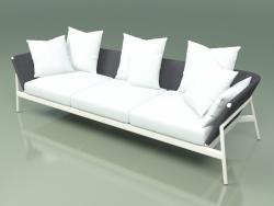 Sofa 003 (Metal Milk, Batyline Gray)