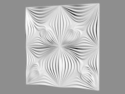 Panel de pared de yeso (artículo 1004)