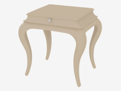 Bedside table on high legs