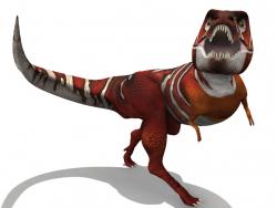 Einfacher Tyrannosaurus