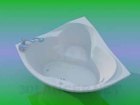 3d model Bañera de hidromasaje - vista previa