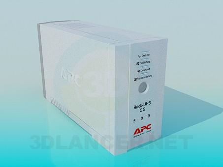 3d model Uninterruptible power supply (UPS) APC - preview