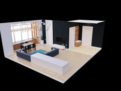 Habitación de huéspedes