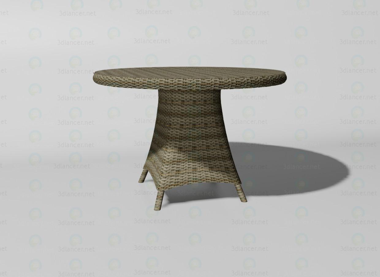 3d модель Riccione стол – превью
