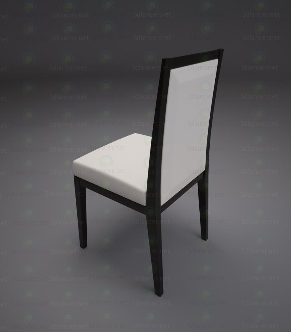 3d модель Стул для столовой – превью