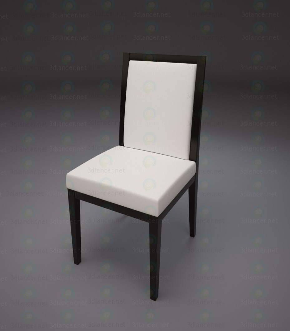 3d modeling Dining room chair model free download