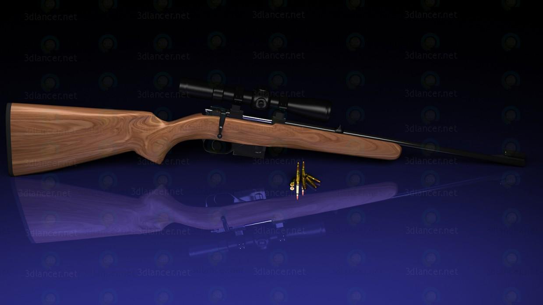 descarga gratuita de 3D modelado modelo CZ-527