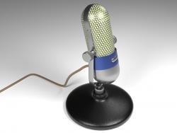 Microphone Vintage