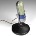 3d model Vintage microphone - preview