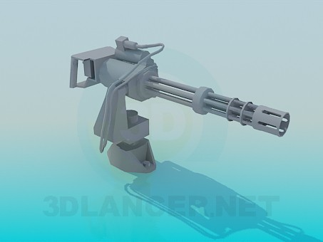 3d model Weapon - preview