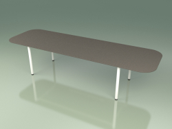 Expandable dining table 030 (Metal Milk)