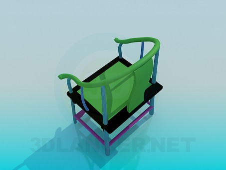 3d model Colorful stools - preview