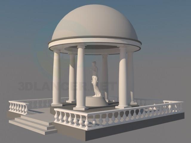 3d model kupol - preview