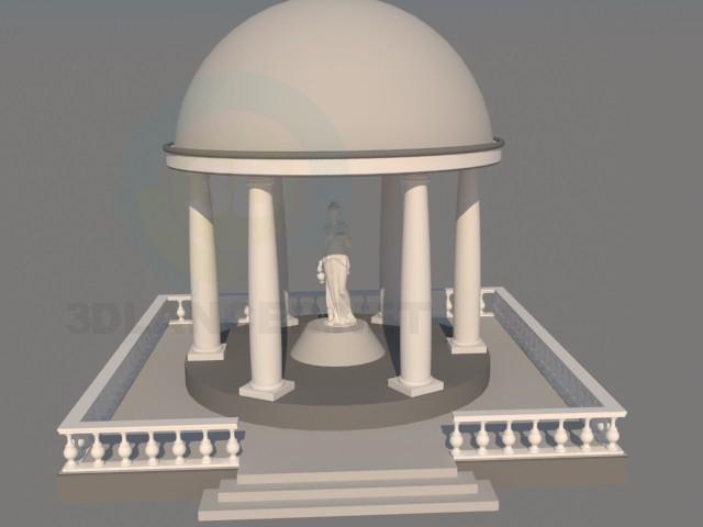 modelo 3D bóveda de - escuchar