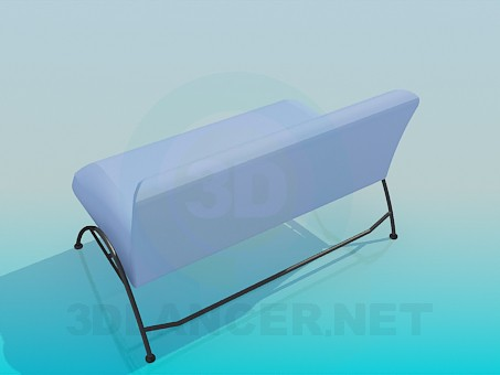 3d model Upholstered Bench 2-berth - preview