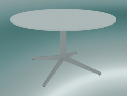 Table MISTER X (9507-51 (Ø80cm), H 50cm, white, white)