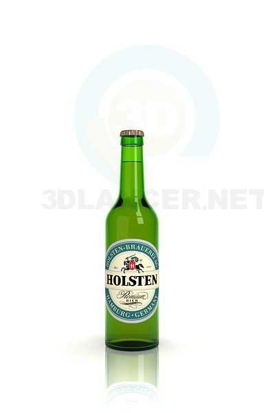 modelo 3D Cerveza - escuchar