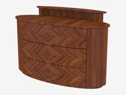 Cupboard with three drawers (art. JSB 1203)