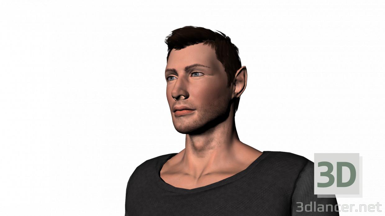 3d Elven tamlen model buy - render