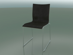 Sliding chair with leather interior (107)