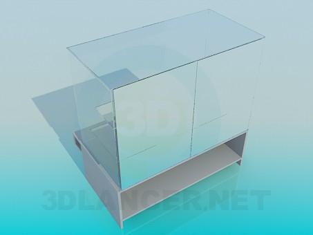 modelo 3D La tienda de cristal - escuchar