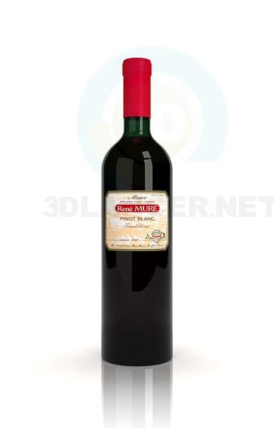 3d модель Вино – превью