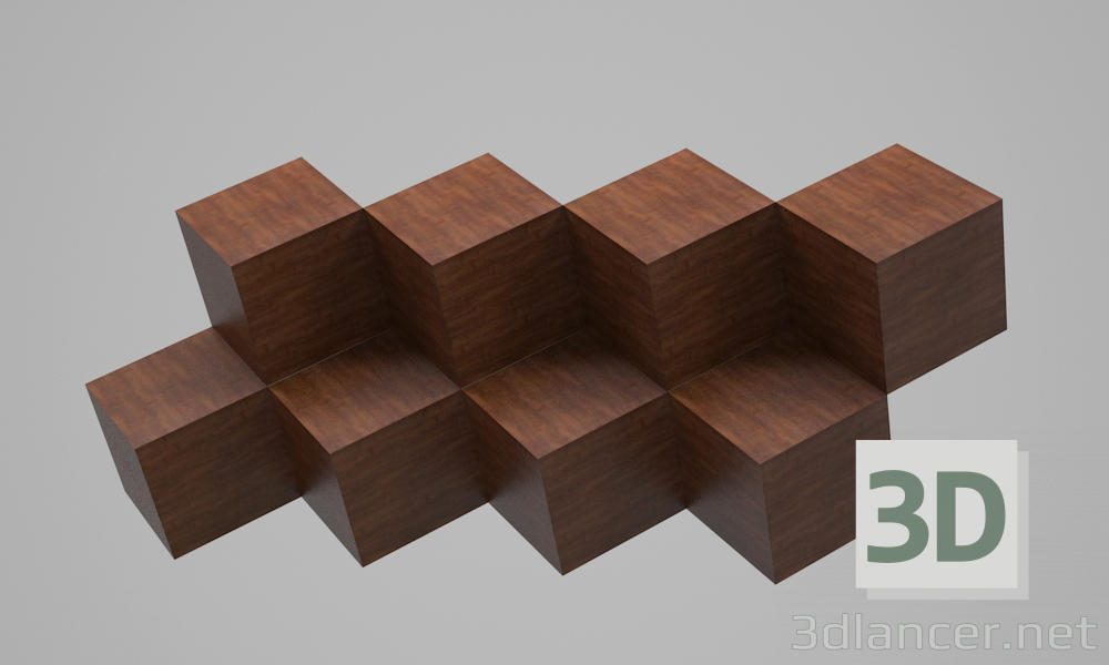 3d model Optical Illusion_1 - preview