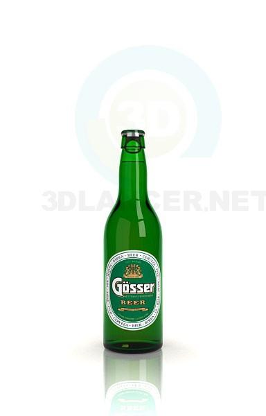 3d модель пиво – превью