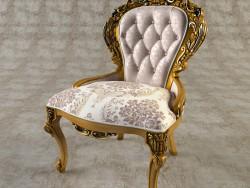 नक्काशीदार कुर्सी