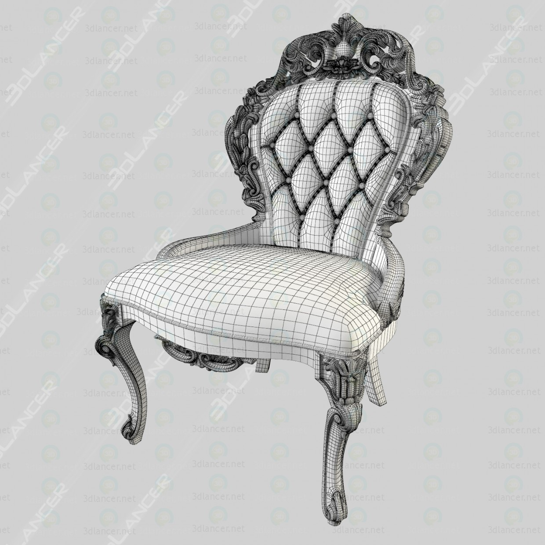 3d різьблений стілець модель купити - зображення