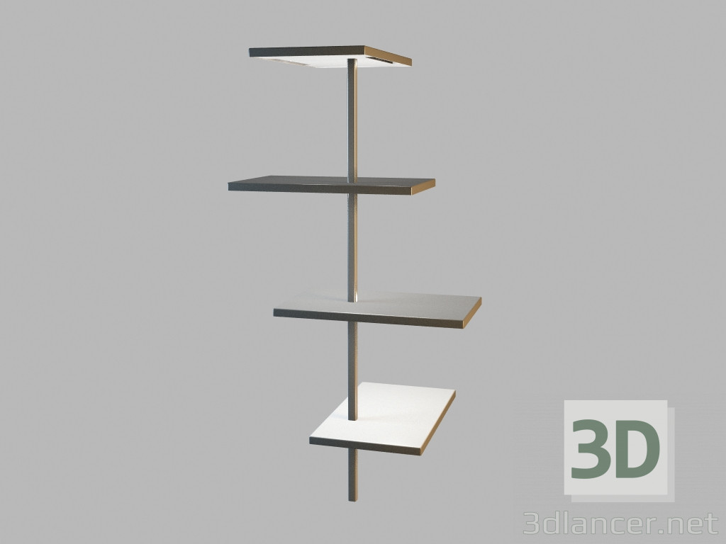 Wall Lamps 3d Model : 3d model Wall lamp 6025 manufacturer Vibia collection SUITE download for free on 3dlancer.net