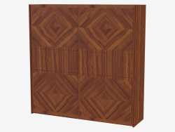 Wooden cabinet (art. JSB 1602)
