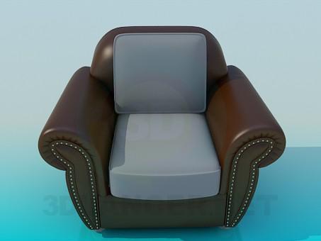 descarga gratuita de 3D modelado modelo Silla grande