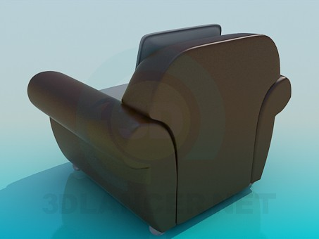 3d model Big chair - preview