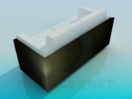modelo 3D Sofá litera 2 - escuchar