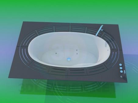 modelo 3D Baño - escuchar