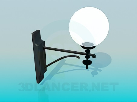 3d modeling Lantern model free download