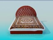 Yatak yumuşak kafa ile yatak