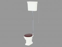 उच्च Etoile साथ शौचालय टंकी