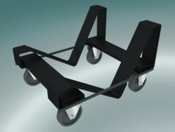 Carrello per sedie impilabili