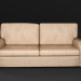3d Sofa leather model buy - render