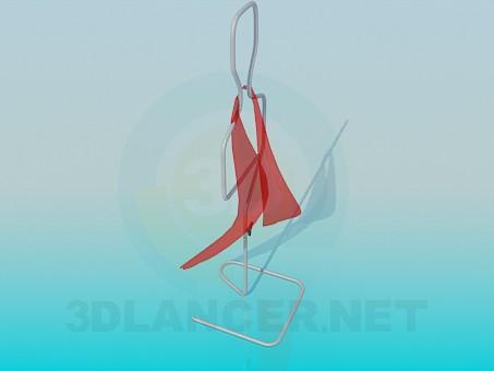 3d модель Вешалка для одежды – превью