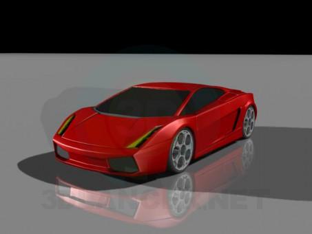 modelo 3D Gallardo - escuchar