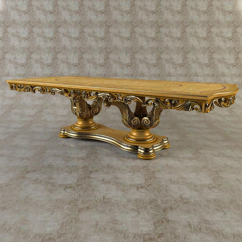 3d Обеденный стол модель купить - ракурс